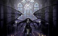 Anime Dark Angel Girl 1 Desktop Background