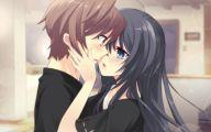 Anime Girl And Boy Kiss 2 Desktop Background