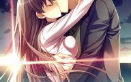 Anime Girl And Boy Kiss 24 Free Hd Wallpaper