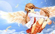 Anime Girl Angel 40 Wide Wallpaper