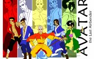 Avatar The Last Airbender Characters 4 Cool Hd Wallpaper