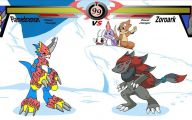 Digimon Vs Pokemon 27 Background Wallpaper