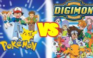 Digimon Vs Pokemon 39 Free Wallpaper