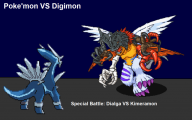 Digimon Vs Pokemon 5 Cool Wallpaper