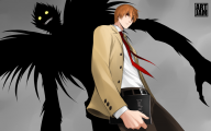 Light Yagami 14 Background Wallpaper