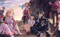 Sword Art Online Season 1 10 Background Wallpaper