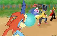 Pokemon Xy Keldeo 8 Anime Background