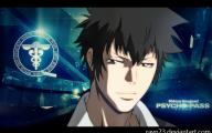 Psycho Pass Kogami 1 High Resolution Wallpaper