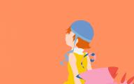 Digimon Biyomon 18 Free Wallpaper
