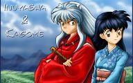Inuyasha And Kagome 42 Widescreen Wallpaper