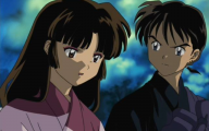 Inuyasha And Miroku 32 Background Wallpaper
