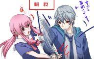 Mirai Nikki Characters 14 Hd Wallpaper