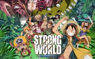 One Piece Strong World 27 Background Wallpaper