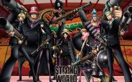 One Piece Strong World 8 Background Wallpaper
