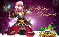 Anime Christmas Girls  1 Widescreen Wallpaper