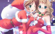 Anime Christmas Girls  7 Cool Hd Wallpaper
