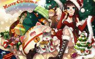 Anime Christmas Girls  8 Free Hd Wallpaper