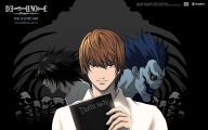 Death Note Anime Series 24 Background Wallpaper