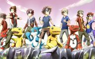 Digimon Anime Tv Series 10 Background Wallpaper
