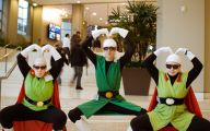 Dragon Ball Z Costumes 17 Widescreen Wallpaper