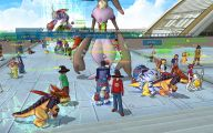 Online Digimon 5 Anime Wallpaper