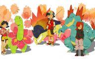 Pokemon Silver 32 Desktop Wallpaper