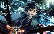 Sword Art Online Cartoon Character 11 Wide Wallpaper