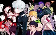 Tokyo Ghoul Characters 9 Background Wallpaper