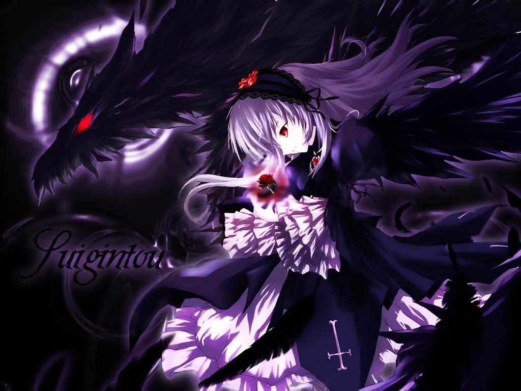 Anime Dark Angel Girl 26 High Resolution Wallpaper Animewp Com