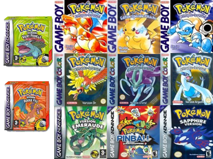 10 Pokemon Games Widescreen Wallpapers