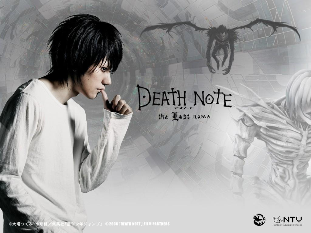 Death Note Movie 1 Desktop Wallpaper - Animewp.com