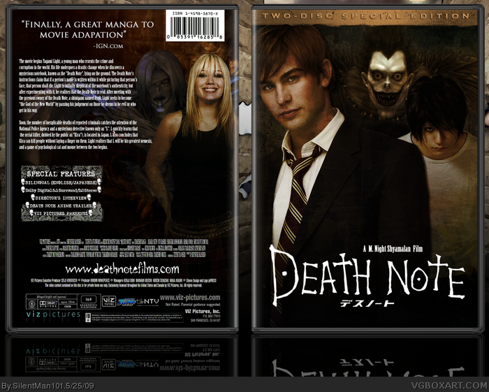 Death Note Movie 40 Hd Wallpaper - Animewp.com