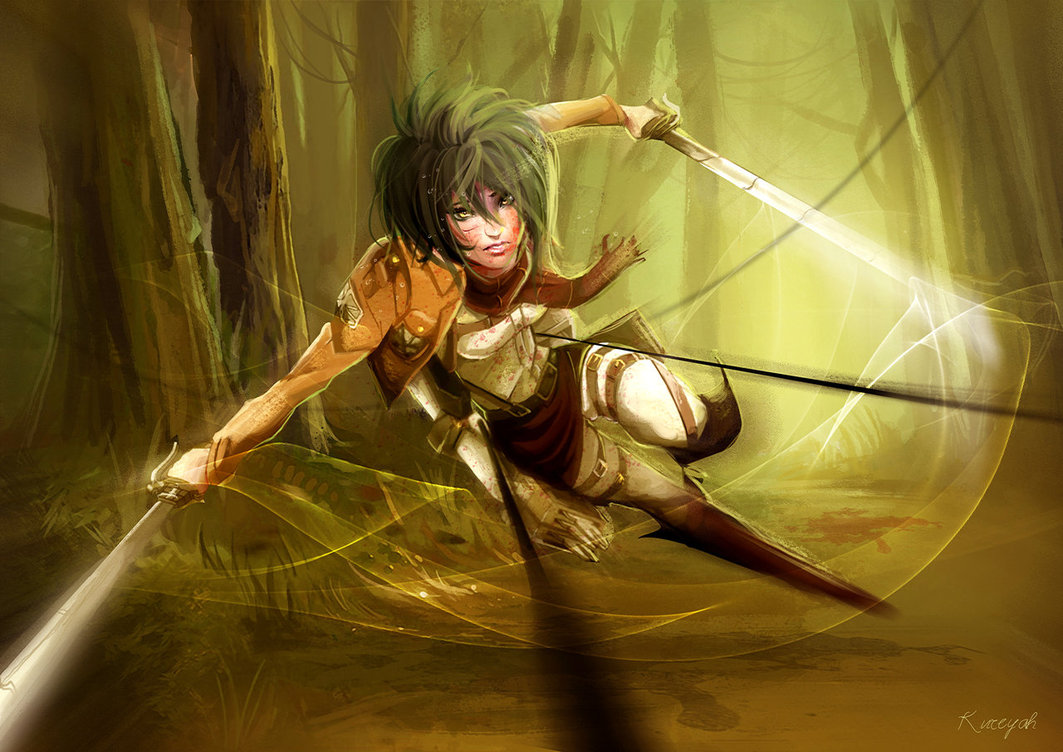 wallpapers mikasa ackerman hd - photo #9
