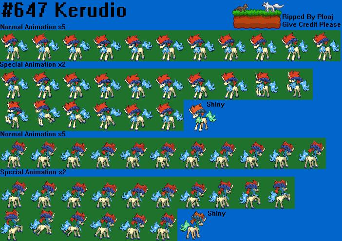 Pokemon Xy Keldeo 18 Desktop Background