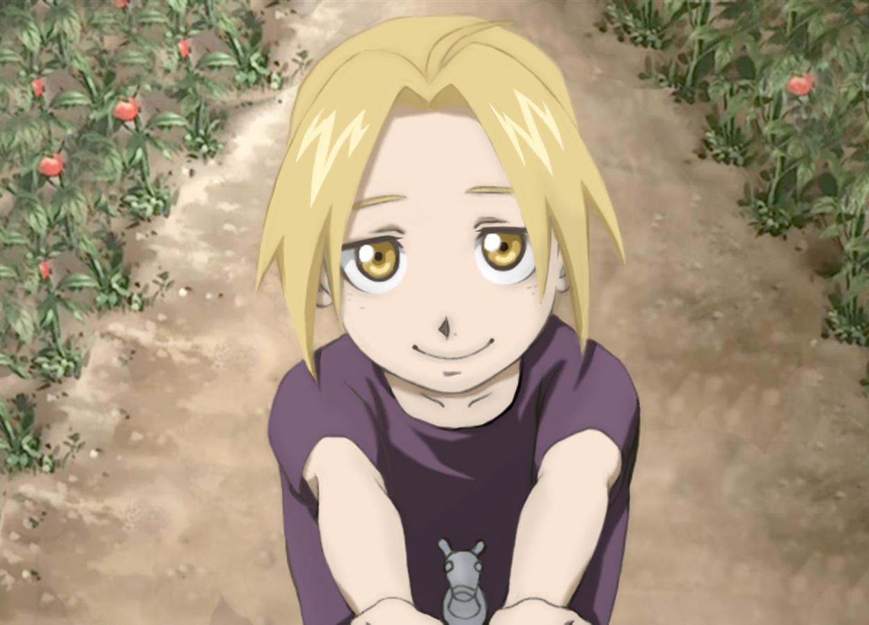 Fullmetal Alchemist Edward Elric Children 9 Anime