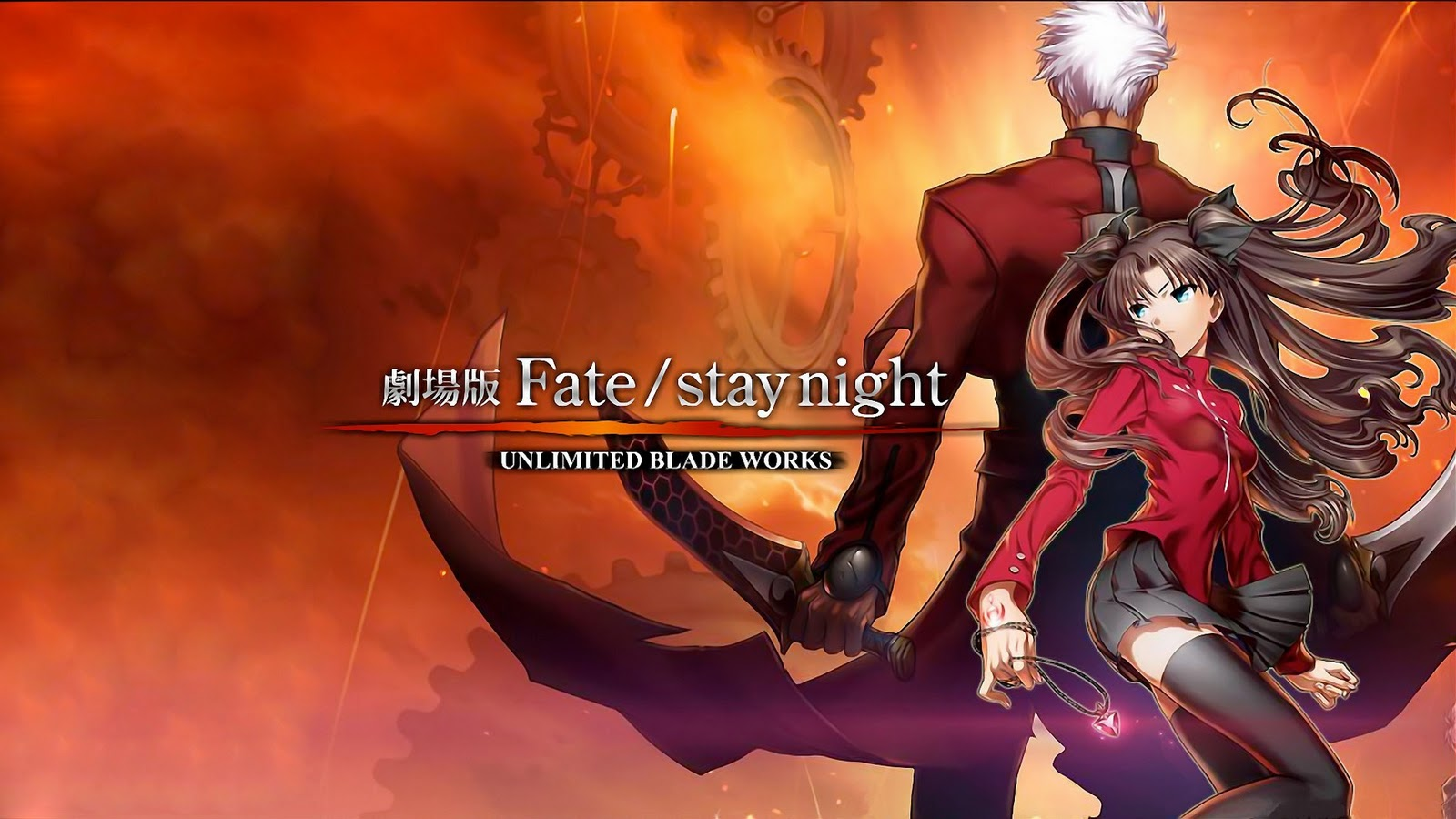 Fate Stay Night Unlimited Blade Works Wallpaper 13 Widescreen