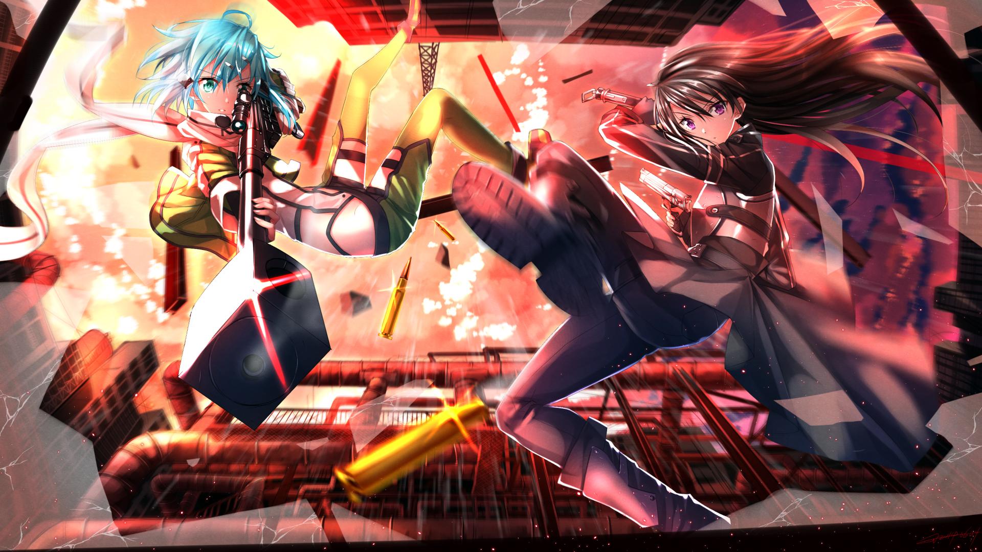 3rd Season Sword Art Online 2 Background Wallpaper Animewp Com