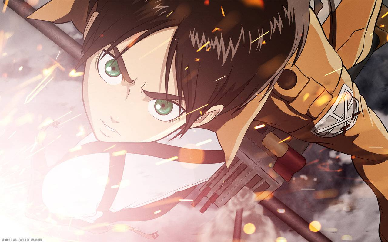 Attack On Titan Eren 24 Hd Wallpaper Animewp Com