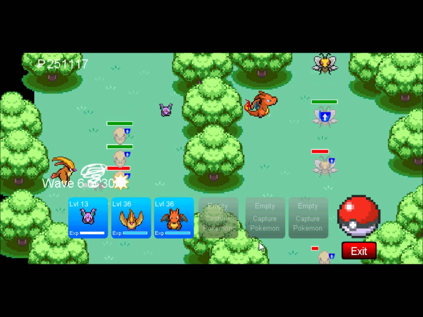 pokemon tower defense 2 hacked codes